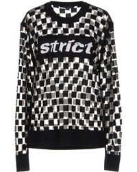 Alexander Wang Strict Check Jumper - Black