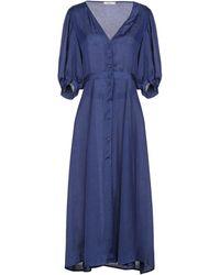 Sessun 3/4 Length Dress - Blue