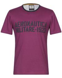 Aeronautica Militare T-shirt - Violet