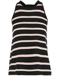Cotton by Autumn Cashmere Top - Black
