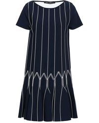 Antonino Valenti Short Dress - Blue