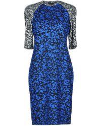 Jonathan Saunders Short Dress - Blue