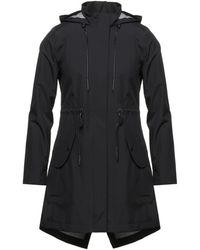 Moose Knuckles Overcoat - Black