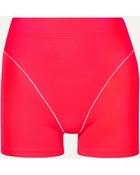 Adam Selman Sport Shorts - Red