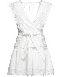 Odi Et Amo Short Dress - White