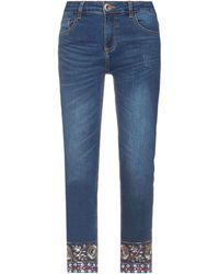 Desigual Pantaloni jeans - Blu