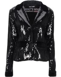 Who*s Who Suit Jacket - Black