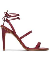 Tibi Toe Post Sandal - Multicolour