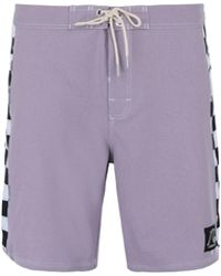 Quiksilver Pantalones de playa - Morado