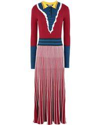 I'm Isola Marras 3/4 Length Dress - Red