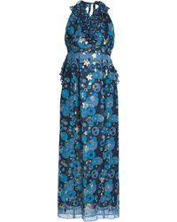 Anna Sui Vestito lungo - Blu