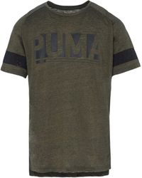 PUMA T-shirts - Grün