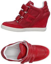 Katie Grand Loves Hogan Low-tops & Sneakers - Red
