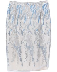 Caractere Midi Skirt - Grey