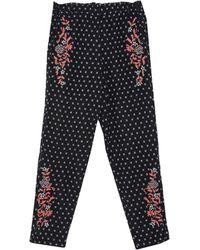INTROPIA Pantalon - Noir