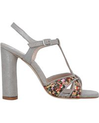 Emanuela Passeri Sandals - Grey