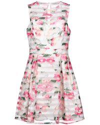Lipsy - Short Dress - Lyst