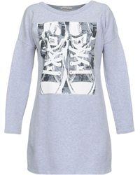 Converse Short Dresses - Grey