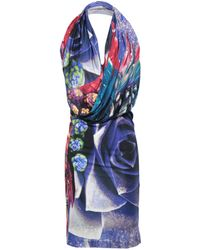 Roberto Cavalli - Knee-length Dress - Lyst
