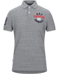Superdry Polo - Gris
