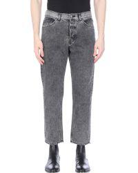 Cheap Monday Denim Trousers - Black