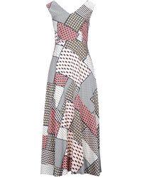Anonyme Designers Long Dress - White