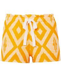 lemlem Shorts & Bermuda Shorts - Yellow
