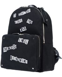 Valentino Garavani Backpacks & Fanny Packs - Black