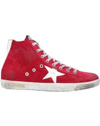 Golden Goose Deluxe Brand High Sneakers & Tennisschuhe - Rot