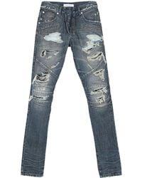 Balmain Denim Trousers - Blue