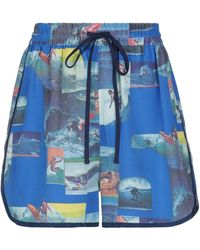 Sea Shorts & Bermuda Shorts - Blue