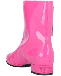 Moschino Ankle Boots - Pink
