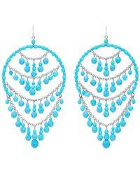 Ben-Amun Earrings - Blue