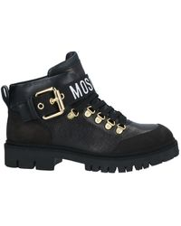 Moschino Ankle Boots - Black