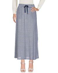 Sun 68 Long Skirt - Blue