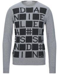 Grey Daniele Alessandrini Pullover - Grau