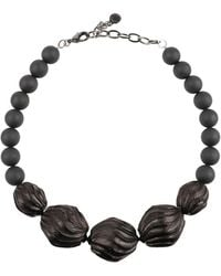 Armani Necklace - Black