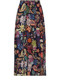RIXO London Falda larga - Multicolor