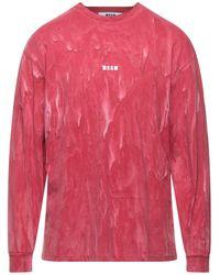 MSGM T-shirts - Pink
