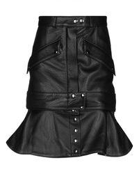 Faith Connexion Knee Length Skirt - Black