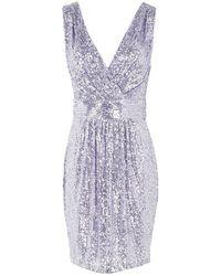 Frankie Morello Short Dress - Purple