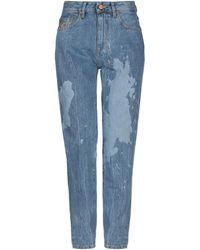 Vivienne Westwood Anglomania Denim Trousers - Blue