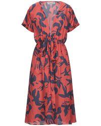 Être Cécile Knee-length Dress - Red