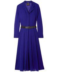 Akris Knee-length Dress - Blue