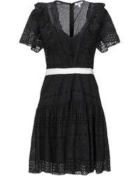 Brigitte Bardot Short Dress - Black