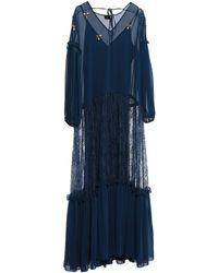 Pinko Vestido largo - Azul