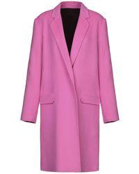Helmut Lang Overcoat - Pink