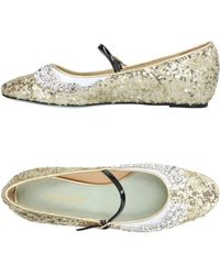 Giannico - Ballet Flats - Lyst
