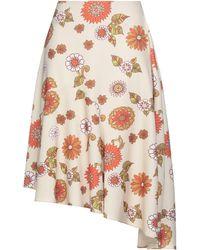 Dodo Bar Or Midi Skirt - Natural