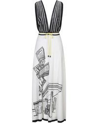 I'm Isola Marras 3/4 Length Dress - White